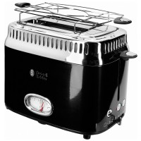 Тостер RUSSELL HOBBS Retro Black 21681-56