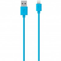 Кабель BELKIN USB 2.0 Lightning charge/sync cable 1.2м Blue (F8J023bt04-BLU)