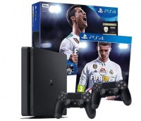 Игровая приставка SONY PlayStation 4 Slim (PS4 Slim) 1TB + FIFA 18