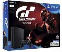Игровая приставка SONY PlayStation 4 Slim (PS4 Slim) 1TB + GT Sport