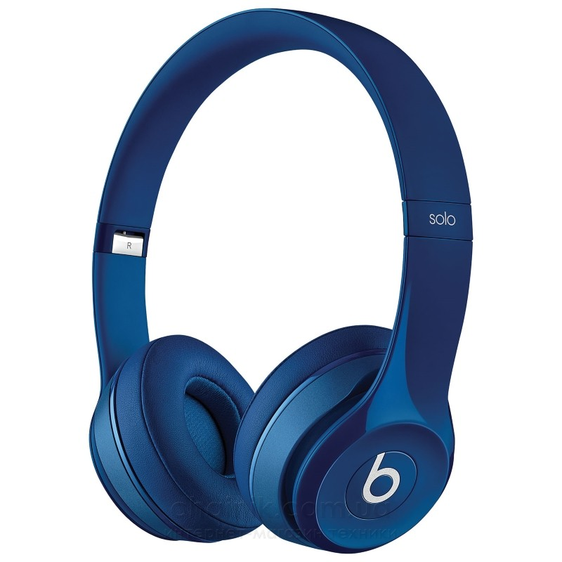 Наушники BEATS Solo2 On-Ear Headphones Blue (MHBJ2ZM/A)