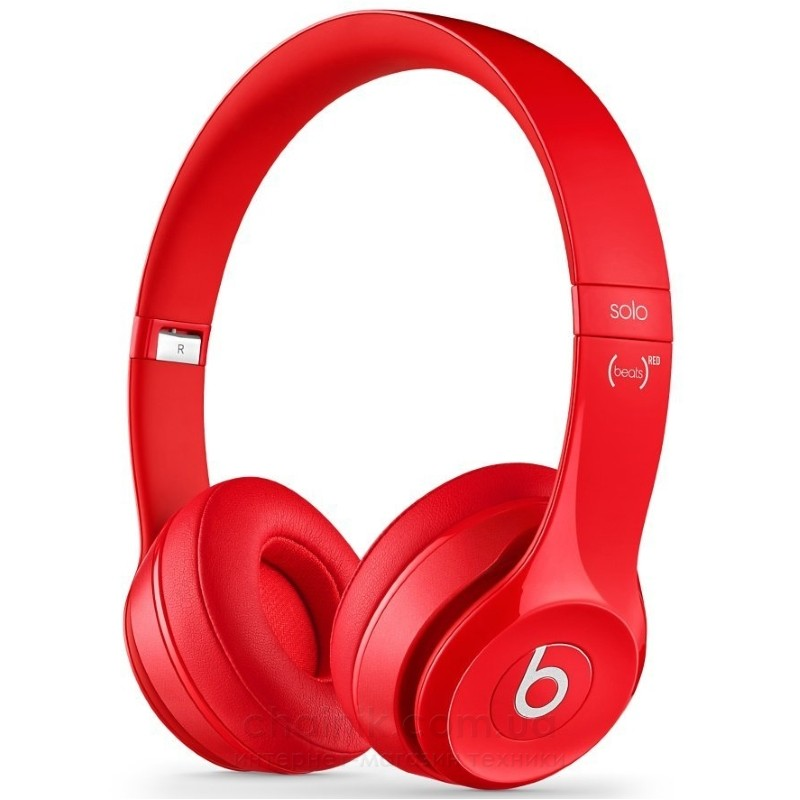 Наушники BEATS Solo2 On-Ear Headphones Red (MH8Y2ZM/A)