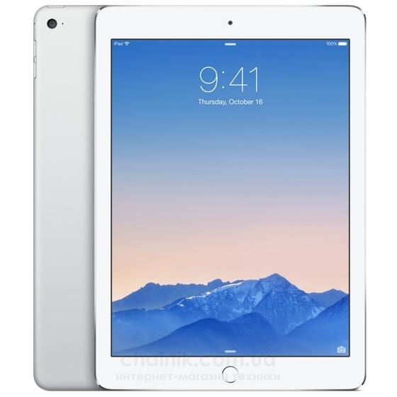 Планшет APPLE A1567 iPad Air 2 Wi-Fi 4G 16Gb Silver (MGH72TU/A)