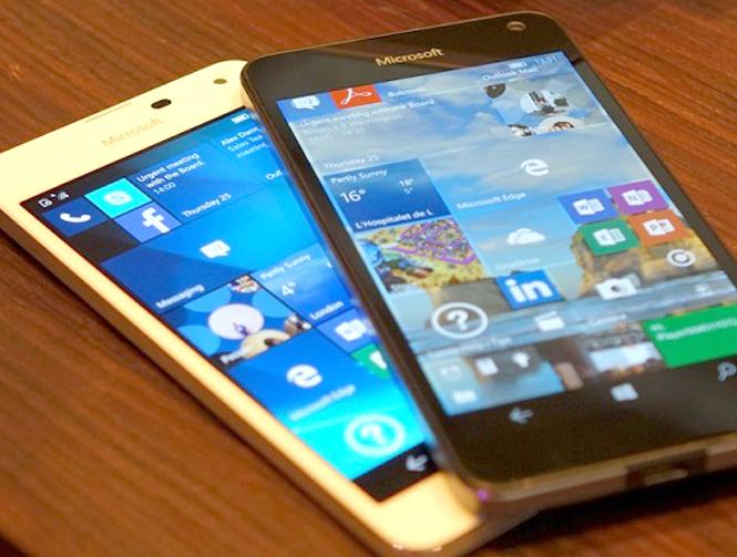Телефоны Microsoft – новизна во всем